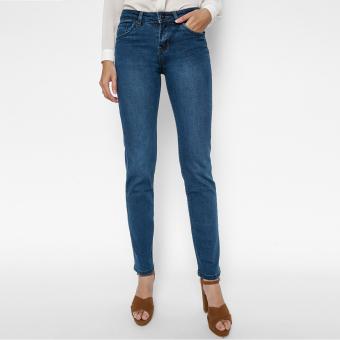 Quần Jeans Ống Đứng Cạp Vừa Cung Cấp Bởi AAA Jeans (Xanh dương)