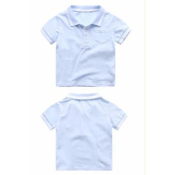 Áo Phông POLO (màu xanh dương)