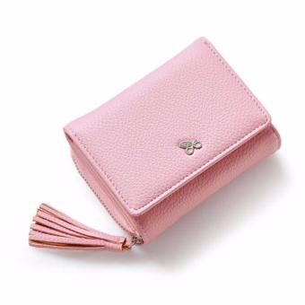 Bóp ví nữ thời trang Weichan chính hãng 577-2 Win Win Shop - Hồng