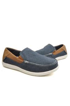 Giày Lười Nam Crocs Santa Cruz 2 Luxe M Navy/Hznt