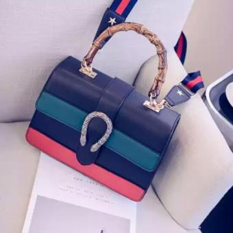 Túi xách thời trang Cao Câp HNH( XANH ĐEN)