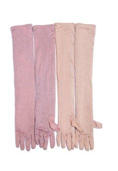 Bộ 4 Cặp găng tay dài 2 lớp Lstyle