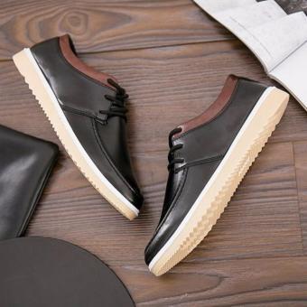 Giày Sneaker thời trang nam Sodoha SDH19023Black