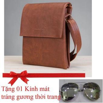 Túi đeo chéo Cao cấp HNM (Crossbody Bag) CB3 (Tặng Kính tráng gương Thời trang)