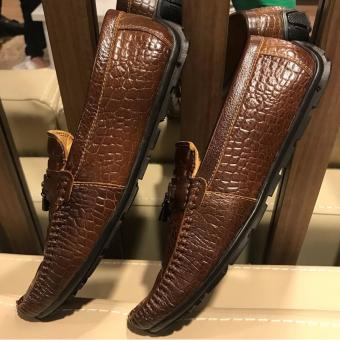 Giày Lười Nam Cao Cấp - Pettino GL06 (nâu)
