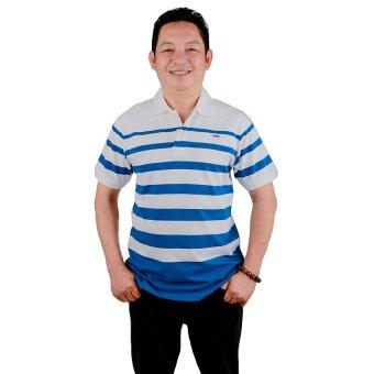 Áo thun trung niên nam Ugether UPAR6 (Sọc Xanh dương)