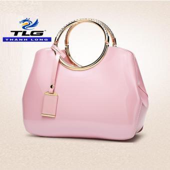 Túi Xách Nữ Thời Trang Phong Cách Đồ Da Thành Long TLG 208016 1(tím hồng)