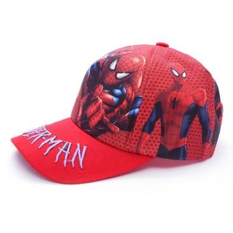 Nón Kết Bé trai Họa Tiết 3D - hình người nhện