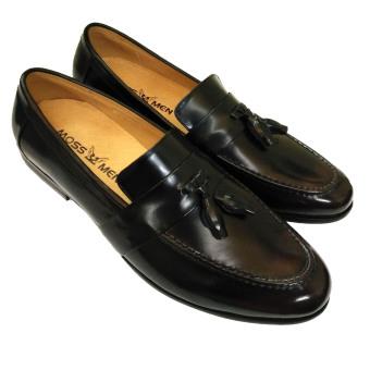 Giày da bóng trà AD9993T
