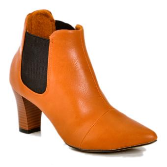 Boot lana thời trang 8 phân (Vàng Bò)