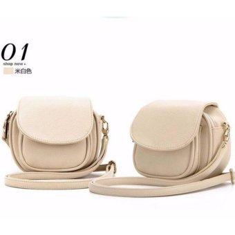 Túi đeo tay đeo vai nữ Cao Cấp HK306 (Trắng)