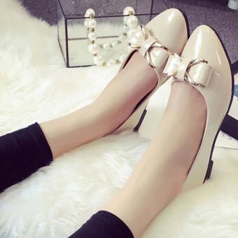Giày nữ dễ thương cực xinh duyên dáng - 152 (kem)