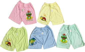 Quần đùi cotton cho bé gái từ 2-5 tuổi (Mầu sắc bất kỳ)