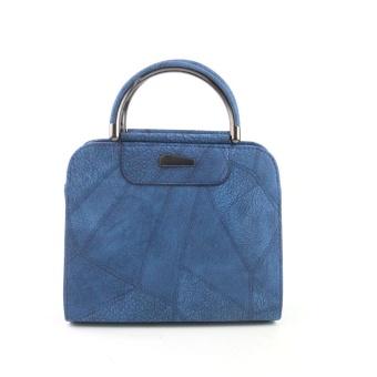 Women Half-round Handbag Big Hand Ladies Wallet - intl