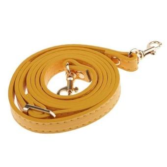 BolehDeals 120cm Adjustable DIY Shoulder Bag Accessories Handbag Handles Straps Yellow - intl