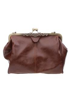 LALANG Satchel Handbag (Brown)