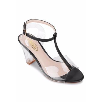Giày Sandals Cao Gót JANVID – L089 (Đen)