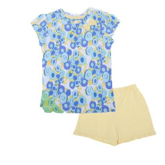 Bộ áo quần hoa nhí Lullaby Limited (Trắng Vàng)