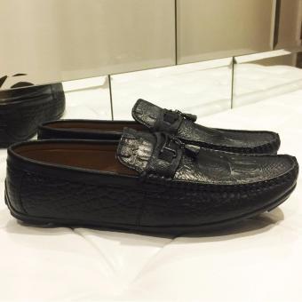 Giày Lười Nam Cao Cấp - Pettino GL06 (đen)