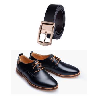 Bộ giày da và thắt lưng công sở thời trang DT5924