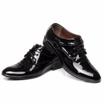 Giày lười công sơ nam da bóng