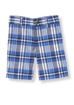 Quần shorts bé trai Janie&Jack Caro Blue 21006 (Xanh caro)