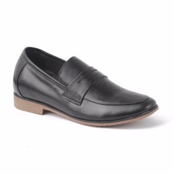 Giày lười tăng chiều cao SMARTMEN GL-223 (Đen)
