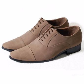 Giày tây cột dây Tathanium Footwear TFBGN0043 (Be)