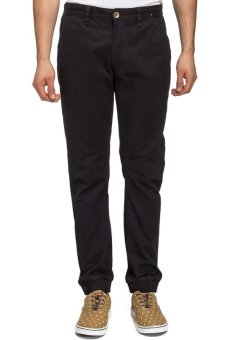 Bellfield Men's Cuff Hem Chino Black
