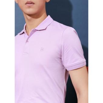 Áo phông Polo tím nhạt