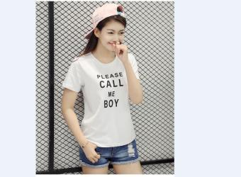 ÁO THUN NỮ Call Me Boy cực cool