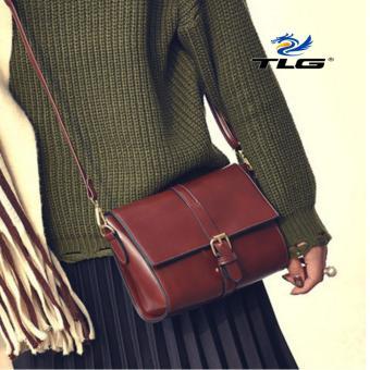 Túi đeo chéo thời trang phong cách Thành Long TL8094 2(nâu sậm)