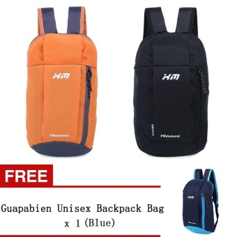 Guapabien Water Resistant Lightweight Patchwork Bucket Shape Backpack Bag [Buy 1 Get 1 Freebie] - intl