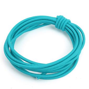 Locking Shoelaces Elastic Shoe Laces Running/Jogging/Triathlon/Sporting/Training blue (Intl)