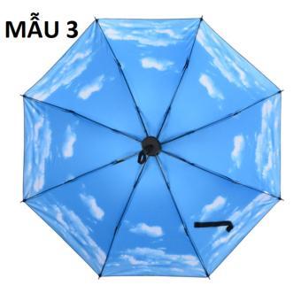 Ô dù điều hòa 5 lớp chống tia cực tím (xanh da trời)