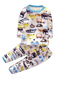 Bộ đồ lót lông cho bé TED14 Family Shop (Họa tiết)