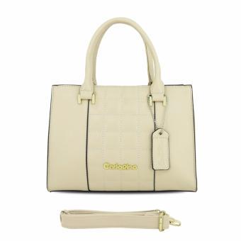 Túi xách tay nữ Carlo Rino 0303307-001-21 (màu beige)