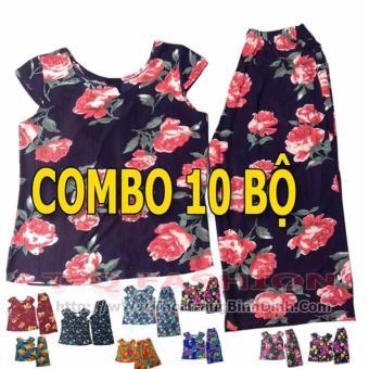 Combo 10 bộ đồ ống rộng ( quần lững)