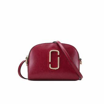 Túi xách nữ da thật cao cấp QSL067 (Đỏ tía) - 3592721