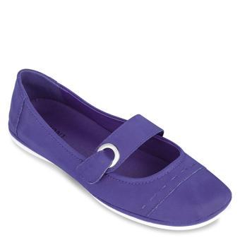 Giày búp bê phối quai ngang