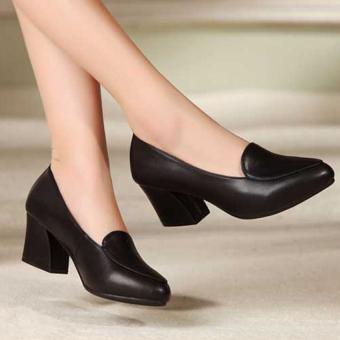 Giày da G1053 (Đen)