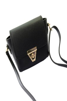 HKS Messenger Bags Fashion Women Shoulder Bags Crossbody Bag Black - intl
