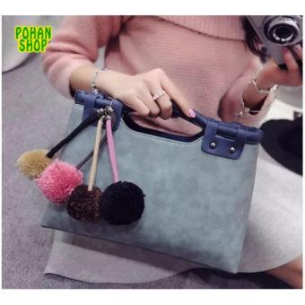 Túi Công Sở Lady Fashion POHAN TLF02 (Xanh)