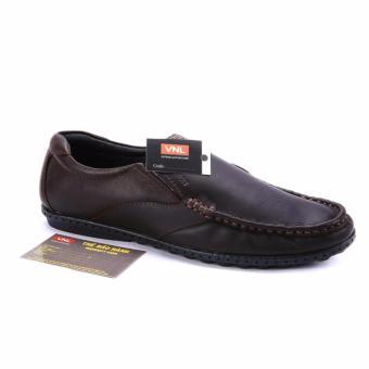 Giày nam da thật cao cấp chính hãng Da giày Việt Nam VNLMOV8AZ96N-2 (Nâu).