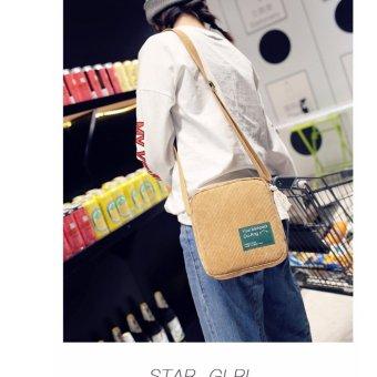 Túi đeo chéo nữ thời trang BTS-IPAD2 (nâu)