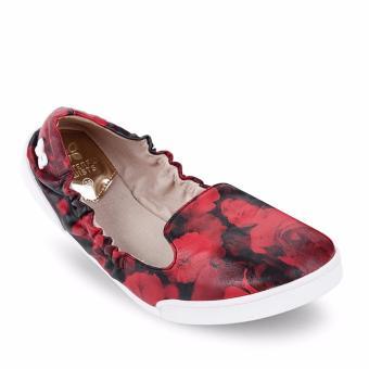 Giày búp bê BUTF JADE BT05001 (Đỏ đậm)