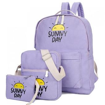 Bộ 3 hoàn hảo Sunny Day (Tím)