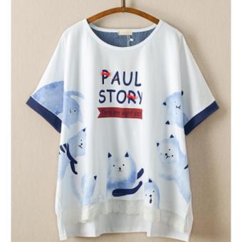 Áo Thun Nữ Tay Ngắn Paul Story LTTA46