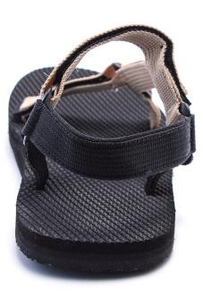 Xăng đan dây dù nữ DWF014 (Kem)