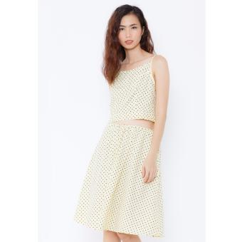 Set áo váy chấm bi Cocoxi 16BD16